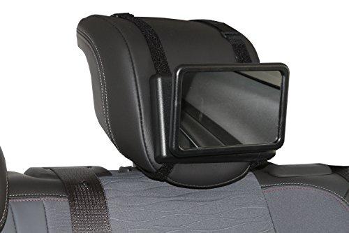 Smart-Planet® baby spiegel auto achteruitkijkspiegel - babyspiegel voor de hoofdsteun van de achterbank kinderspiegel baby observatiespiegel observatiespiegel