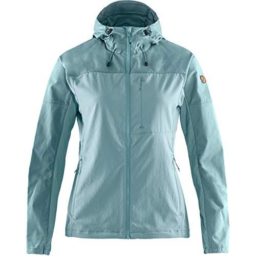 FJALLRAVEN Abisko Midsummer Jacket W - Damenjacke L Mineral-blau-tonblau