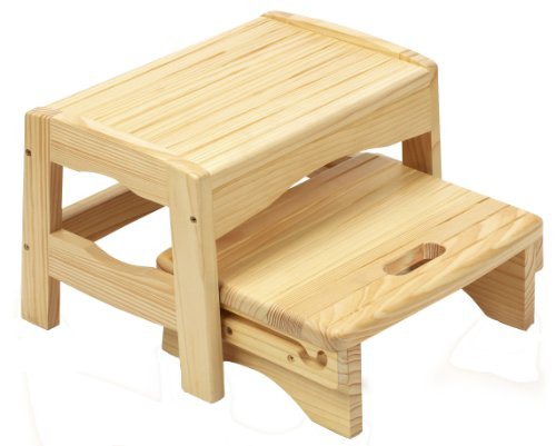 SAFETY 1ST - Taburete de madera (2 escalones)