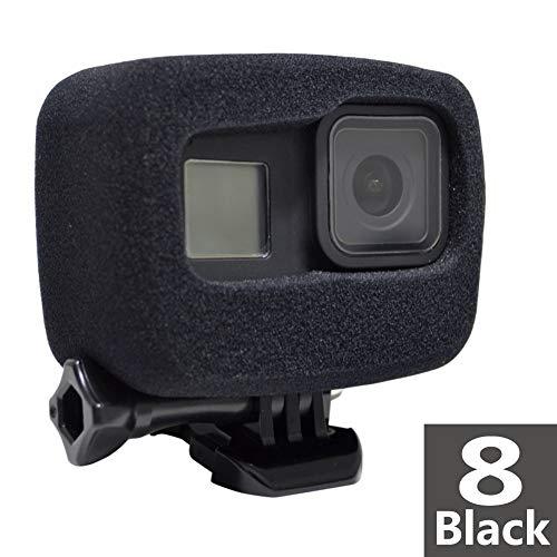 Custodia in schiuma Windslayer per GoPro Hero 8 Riduzione del rumore del vento spugna protettiva parabrezza per registrazione audio video