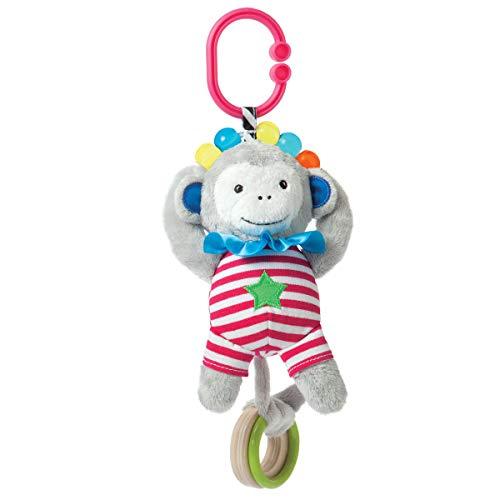 Manhattan Toy Link et de jeu Singe Anneau de dentition et hochet jouet de voyage