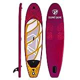 NgMik Tabla De Surf Inflable Sup Inflable Stand Up Paddle Board Package con 5 Piezas Accesorios, 305 Cm 320 Cm Longitud, Rojo Estable (Color : Red, Size : 305x76x15cm)