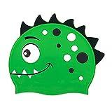 Cuffie Da Nuoto In Silicone Per Bambini Nesloonp Cuffie Da Nuoto In SiliconePiccolo Dinosauro, Cuffie Da Nuoto Impermeabili E Antiscivolo Per Bambini (5-12 Anni)