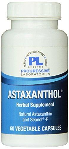 Progressive Labs Astaxanthol Supplement, 60 Count