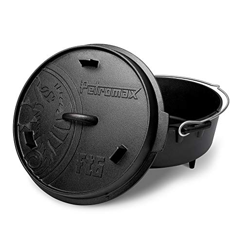 Petromax Feuertopf ft6 (Dutch Oven) (mit Standfüssen)