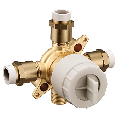Moen U140V M-CORE 3-Series 4 Port Tub and Shower Pre-Fabricated Mixing Valve with CPVC Connections