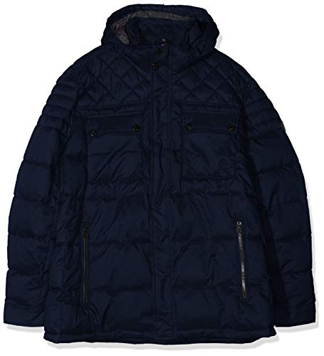 s.Oliver Big Size Herren 28.909.51.2407 Jacke, Blau (Fresh Ink 5952), 4XL
