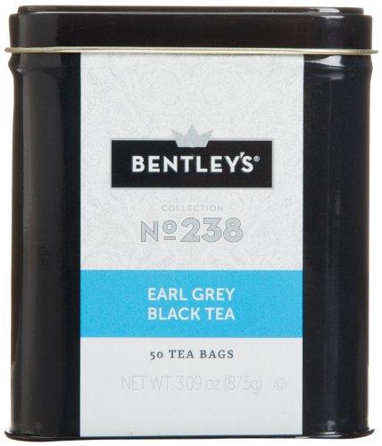 Bentley's Harmony Collection Tin, Earl Grey Black Tea, 50 Count