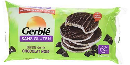 Gerblé Galettes Riz Chocó Noir Sans Gluten 130, 4 G