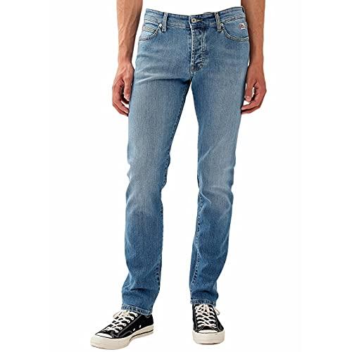 Roy Rogers 529 Man Organic Elast. No TRAMINER Jeans PANTAL.Uomo Pantalone Uomo 33