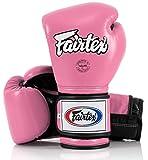 Fairtex Guantes de boxeo Muay Thai BGV9 – Heavy Hitter estilo mexicano – 10 12 14 16 oz Guantes de entrenamiento y sparring para Kick Boxing MMA K1