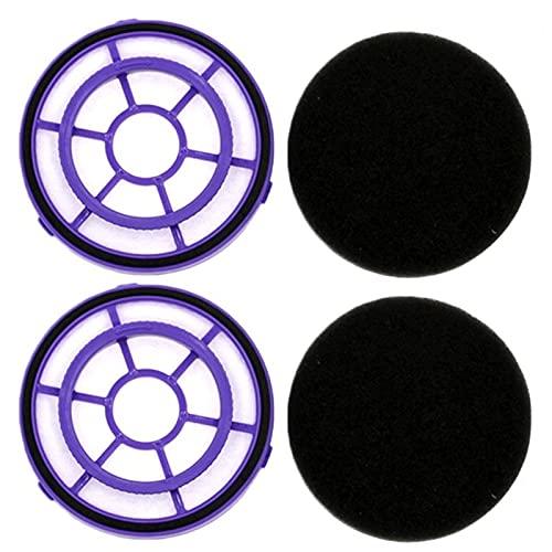 Filtro de limpieza para el hogar 2 piezas para colectores de polvo y aspiradoras portátiles PUPPYOO WP526 WP521 (color : 2 piezas WP526) piezas de repuesto de filtro (color: 2 piezas Wp526)