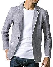 liberte riche(リベルテ リッシュ) メンズ ジャケット テーラードジャケット スウェット ビジネス カジュアル 細身 ストレッチ 6color 6サイズ展開