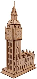 Sidiou Group Merry Puzzle 3D Wooden Puzzle DIY Model Big Ben