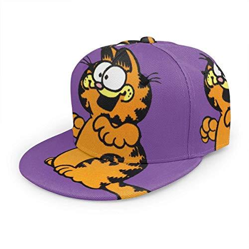 Cap Gorra de béisbol Sombrero Garfield de Dibujos Animados Algodón Gorra Casual Sports