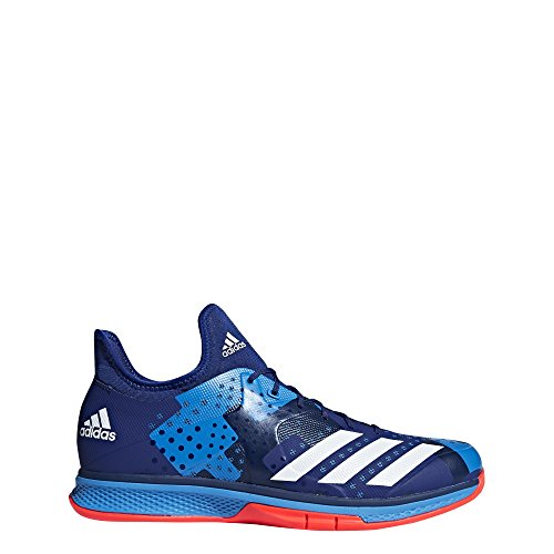 adidas Herren Counterblast Bounce Handballschuhe, Mehrfarbig (Tinmis/Ftwbla/Rojsol 000), 48 EU