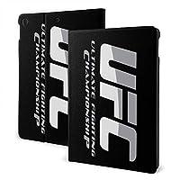 UFC Logo iPad 7 ケース Ipad 10.2 インチ IPad 第7世代ケース Ipad Air3 ケース IPad Air3 10.5インチ 対応 IPad Pro 10.5ケース IPad Pro10.5インチ全面保護型 傷つけ防止 磁気吸着 手帳型 ケース 軽量 薄型 ブックカバーデザイン 角度調節可能なスタンドケース オートスリープ機能/ウェイク