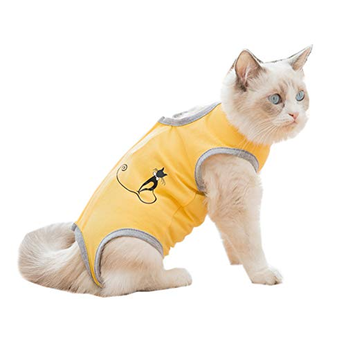 Coppthinktu Cat Recovery Suit for Abdominal Wounds or Skin Diseases Breathable...