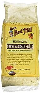 Bob's Red Mill - Tierra de la piedra de la harina de habas del garbanzo - 16 oz.