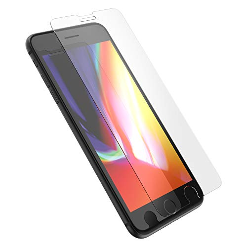 OtterBox para Apple iPhone 8 Plus/7 Plus/6s Plus/6 Plus, Protector de Pantalla de Cristal, Value Glass - En Caja Retail