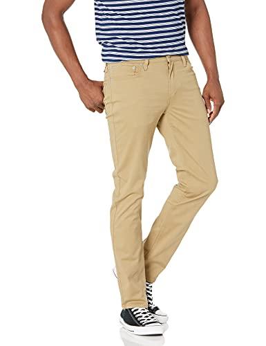 Levi's 511 Slim Fit Pant Pantalon pour Les Loisirs, Couleur : doré, 38W x 34L Homme