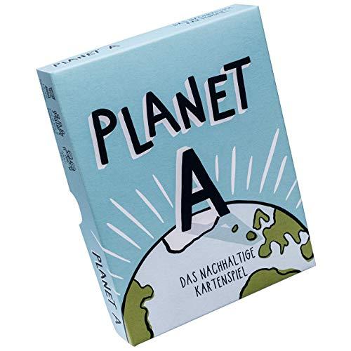 Planet A - Das nachhaltige Kartenspiel. Gemeinsam die Welt retten. Ein unterhaltsames Spiel für Jung und Alt mit 105 einzigartigen Illustrationen. 2-5 Spielende. Die Neuheit 2021
