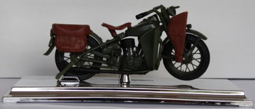 Motorrad Modell Harley Davidson 1942 WLA Flad Head - Maisto 1:18