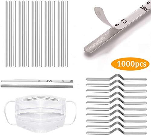 Nasensteg für Maske, Metall Nasenstreifen, flache Nasenklammern, Nasensteg-Halterung, DIY Draht für Maskenherstellung Material