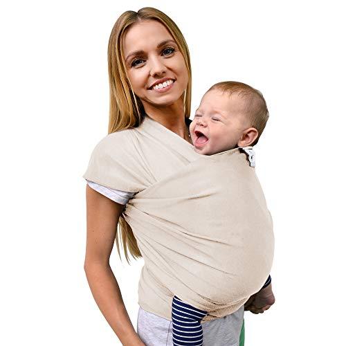 Fastique Kids® Tragetuch - elastisches Babytragetuch für...