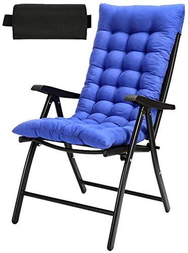 HOMRanger Klappstühle Liegestuhl Garten Tragbare Einstellbare Liegen mit Armlehnen Outdoor Indoor Camping Strand Klapp (Farbe: T3)