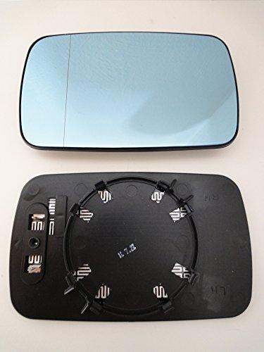 DAPA 1006339 Spiegel ist asphärisch blau getönt und beheizbar passt für links und rechts ist somit beidseitig montierbar und passt auf Ihren original Spiegel