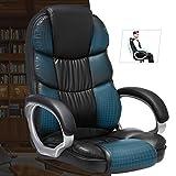 SONGMICS Bürostuhl Chefsessel Drehstuhl Computerstuhl SGS EN12520 Sitzhöhenverstellung office Stuhl Polsterung OBG24B - 7