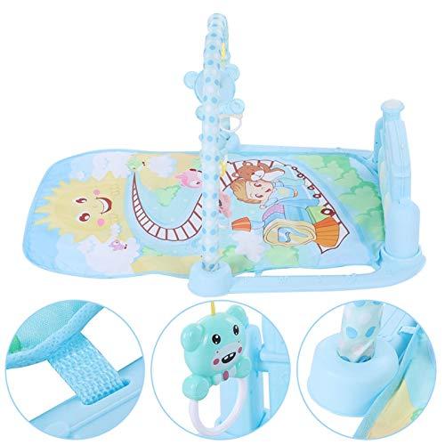 FOLOSAFENAR 5 Colgantes de plástico, cómoda Alfombra de Juego para bebés, Manta de Juego con Hebilla Desmontable, Amplio Rango de Actividades para el hogar