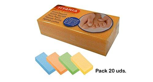 Titania Pack de 20 pierres ponce