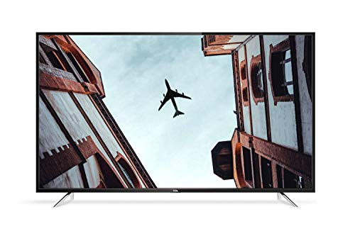 TCL 55DP608 55 Inch 4K UHD HDR 10 Smart TV with Freeview Play - Black (2018 Model) [Energy Class A+]