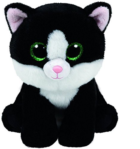 Ty Beanie Babies AVA - Black & White Cat by