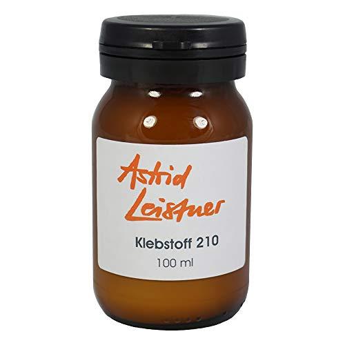 Klebstoff 210 Flüssigkleber 100 ml + Pinsel für Dauerbefestigung von Toupets Perücken Haarteilen