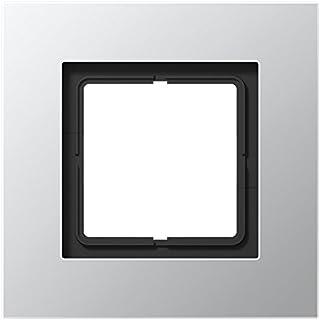Jung ls plus - Marco embellecedor simple 115x115mm aluminio
