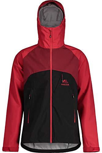Maloja Raidakm Softshell-Jacke für Herren S Mondlos / mehrfarbig
