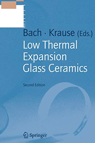 Price comparison product image Low Thermal Expansion Glass Ceramics (Schott Series on Glass and Glass Ceramics)