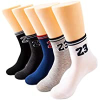 5-Pairs Awesome 360 Women's Casual Socks