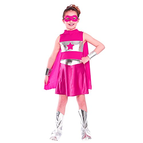 Super Hero - Pink (3-4) **NEW**