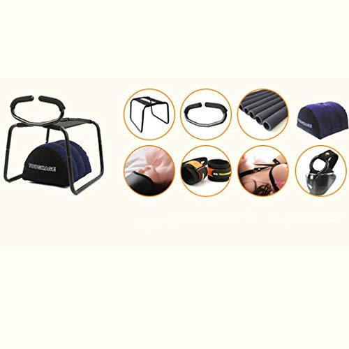 WDSMKL Gaming-Stuhl, mehrere Positionen, schwerellos, abnehmbar, elastisch, für Erwachsene, Spielzeug für Paare, tiefere Position WDSMKL