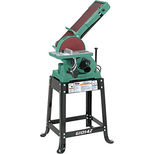 Grizzly G1014Z Disc Z Series Combination Sander with Belt, 6 x 48-Inch
