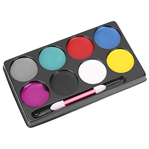 Paleta profesional no txica de 8 colores, los mejores kits de pintura facial y corporal Pintura facial festiva para nios, lpices de colores faciales seguros y no txicos