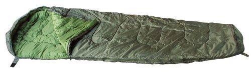 Momie Camping Sac de Couchage 230 * 80cm en Différentes Couleurs (Olive) par Commando Industries