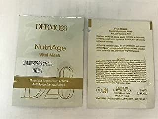 Paris DERMO28 NutriAge Vital Mask 3ml x 2pcs = 6ml Sample #tw