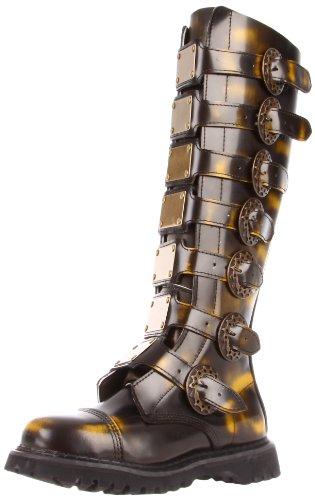 Demonia STEAM-30 Bronze Rub-Off Leather UK 3 (EU 36)