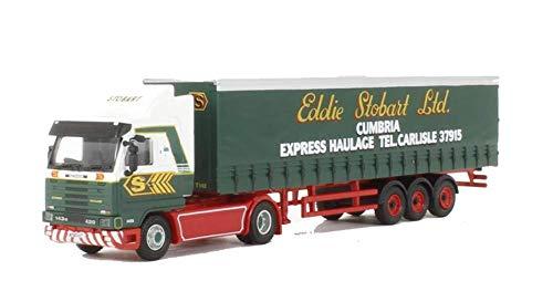 Oxford Die Cast Scania R143M 420 Curtainside - Eddie Stobart'Bumble Bette'