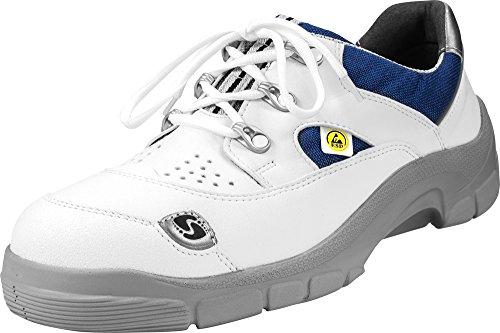 Schürr Sicherheitsschuh Rehau mit Alukappe S1 S2 SRA SB, Farbe: Weiß, Größe: 44